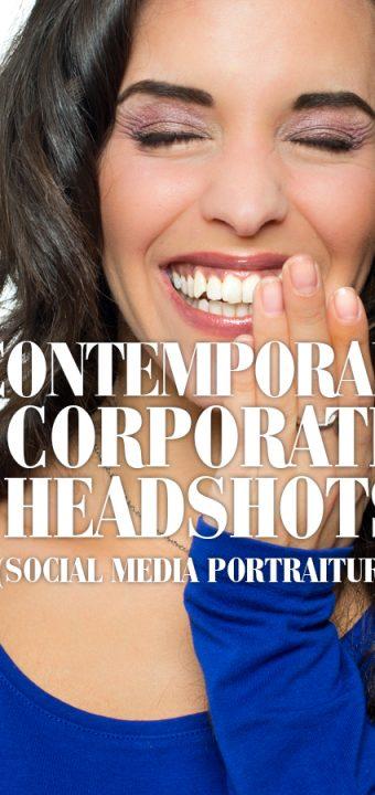 Corporate Headshots & Social Media Portraiture