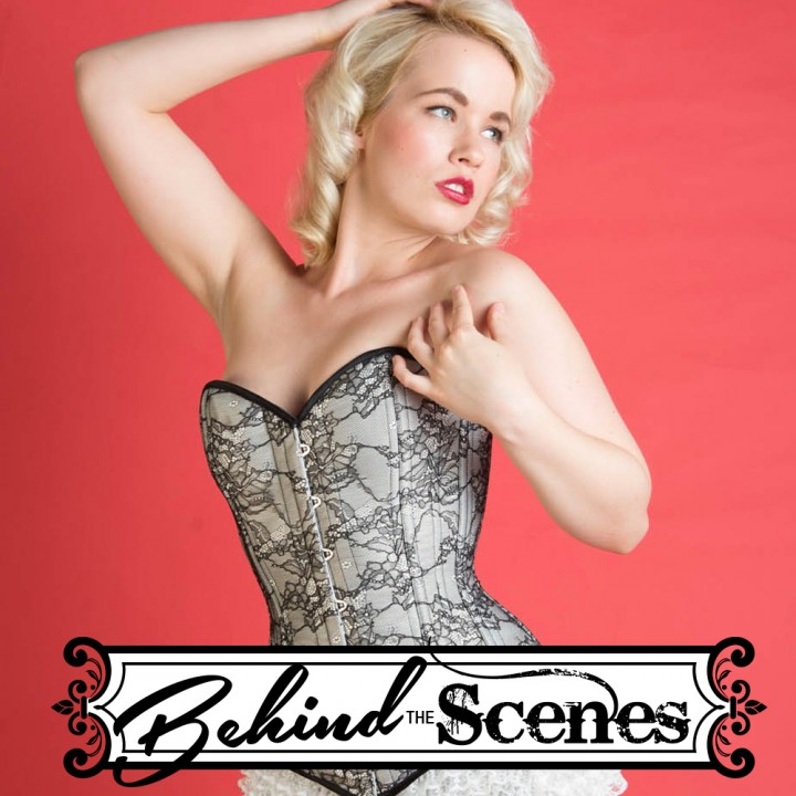 Editorial :: Behind the Scenes Pinup Photography