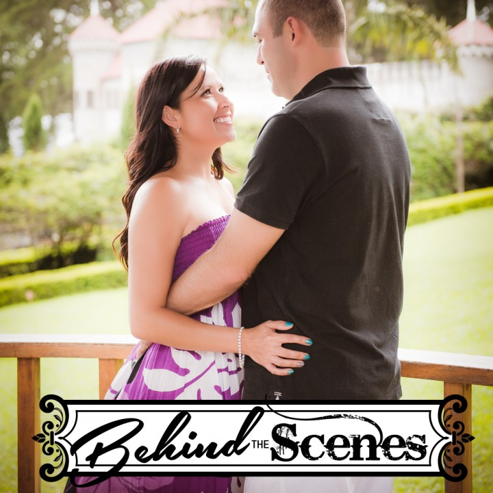 Behind the Scenes - Couple - Taty Steve