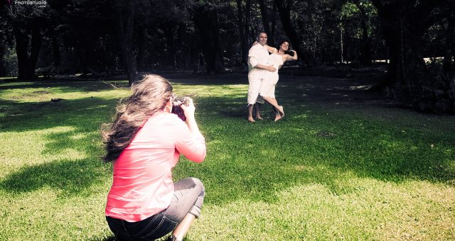 Taty + Steven :: Behind the Scenes Engagement