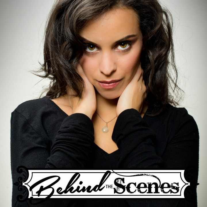 Behind the Scenes - Glamour Beauty Portraiture