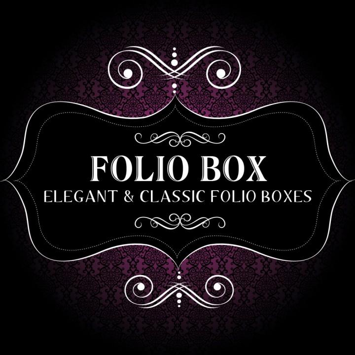 Photoshoot product folio box