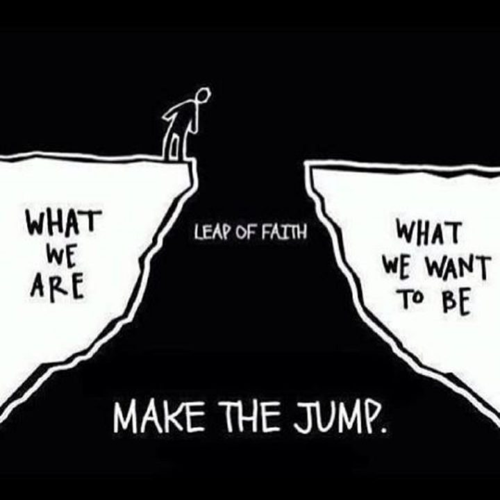 Love Note From God: Make the Jump of Leap of Faith
