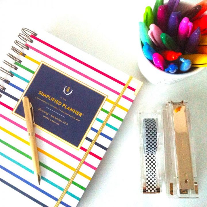 My beautiful Simplified Planner by Emily Ley