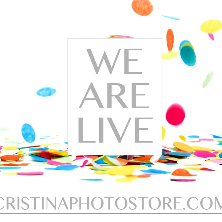 CRISTINAPHOTOSTORE.COM is officially open!